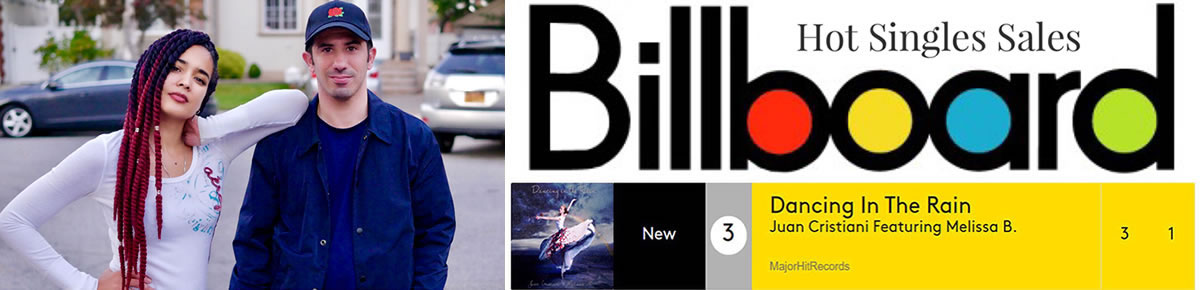 Dancing In The Rain Billboard Hot Singles Sales